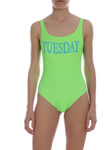 Alberta Ferretti - Tuesday swimsuit in neon green