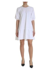 Moschino Boutique - Oversize dress in white