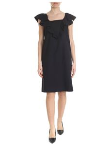 Moschino Boutique - Dress with ruffles in black
