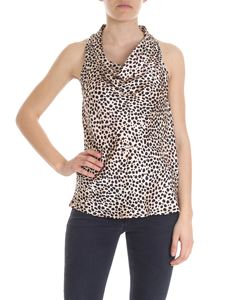 L'Autre Chose - Silk top with animal pattern