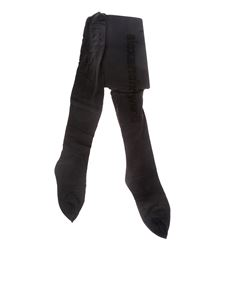 Alexander Wang - Black tights with logo