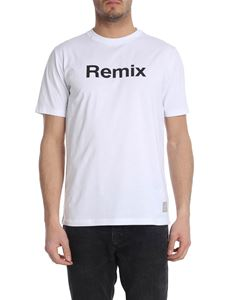 Department 5 - White T-shirt with Remix print