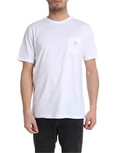 Department 5 - White T-shirt with pocket