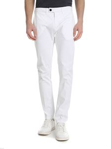 Department 5 - White cotton trousers