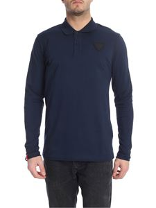 Rossignol - Blue polo shirt with Rossignol patch