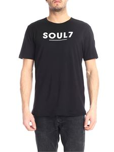 Rossignol - Black T-shirt with Soul7 print