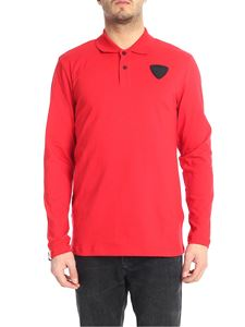 Rossignol - Red polo shirt with Rossignol patch