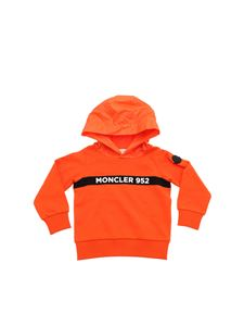 Moncler Jr - Moncler 952 hoodie in orange