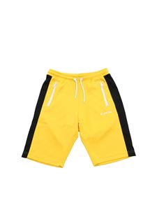 Diesel - Bermuda with black side bands in yellow