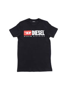 Diesel - Diesel print T-shirt in black