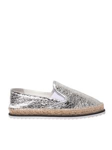Kendall + Kylie - Envy espadrilles in silver