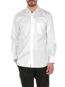 Comme Des Garçons Shirt  - Classic shirt with single pocket in white