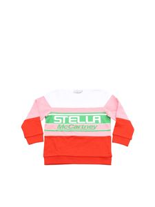Stella McCartney Kids - Felpa color block Stella McCartney