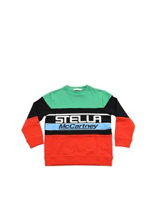Stella McCartney Kids - Color block crewneck sweatshirt