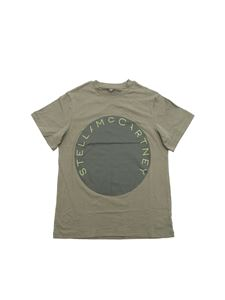 Stella McCartney Kids - Stella McCartney t-shirt in army green