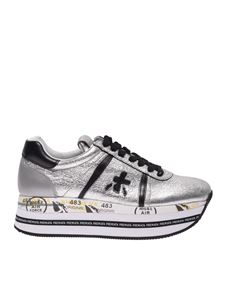 Premiata - Beth sneakers in silver leather