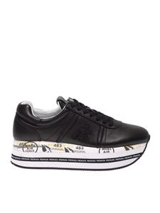 Premiata - Beth sneakers in black with oversize sole