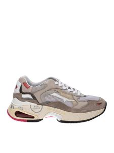 Premiata - Chunky Sharky sneakers in beige