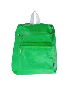 Comme Des Garçons Shirt  - Synthetic raffia backpack in green