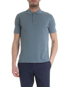 Zanone - Ice pique polo in light blue