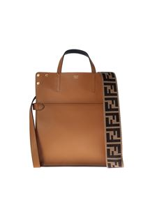 Fendi - Fendi Flip Regular bag in hazelnut