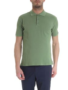 Zanone - Polo in green ice pique