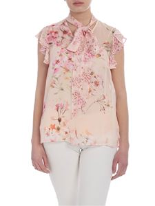 Twin-Set - Pink top with floral print