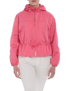 Twin-Set - Pink hooded jacket
