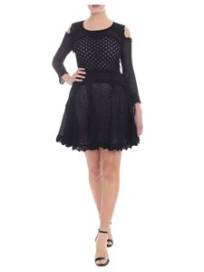 Twin-Set - Black cut-out knitted sweater