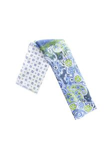 L.B.M. 1911 - Paisley and flowers pattern scarf