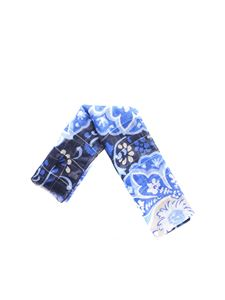 L.B.M. 1911 - Linen scarf with paisley