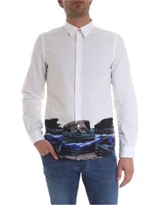 Paul Smith - Camicia in puro cotone bianco