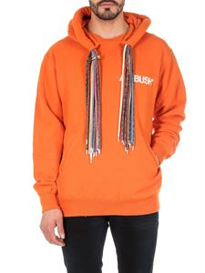 Ambush - Multi Cord hoodie in orange