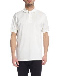 Paul Smith - Two-button polo in cream color