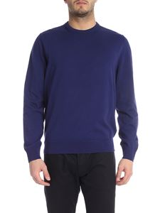 Paul Smith - Crewneck pullover in blue