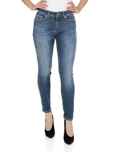 Dondup - Monroe 5 pocket jeans in blue
