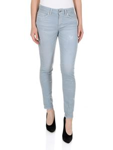 Dondup - Monroe 5 pocket jeans in light blue
