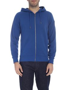 Colmar - Zipped hoodie in light blue