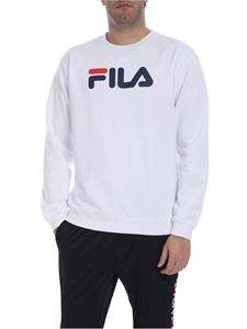 Fila - Fila print sweatshirt in white