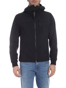 CP Company - Black jacket with glasses