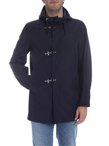 Fay - Three hooks jacket in dark blue