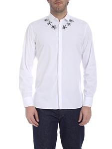Neil Barrett - Anemone print shirt in white