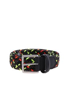 Anderson's - Gray and neon woven belt