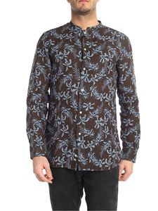 Paolo Pecora - Linen shirt with floral pattern