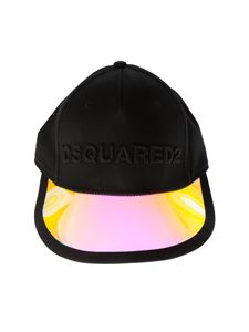 Dsquared2 - Baseball cap in black with PVC peak