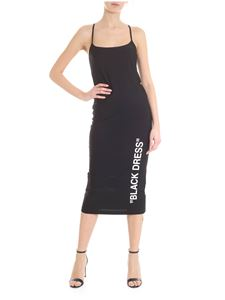 Off-White - Longuette Black Dress in black