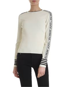Off-White - Off White pullover in white with bands