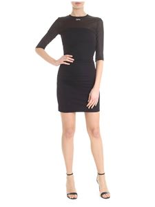 Off-White - Short stretch dress Off black