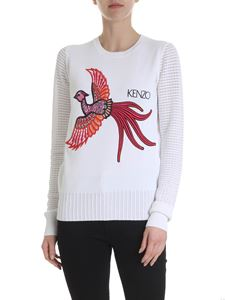 Kenzo - Flying Phoenix pullover in white