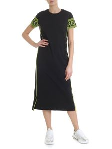 Kenzo - Kenzo midi dress in black and yellow